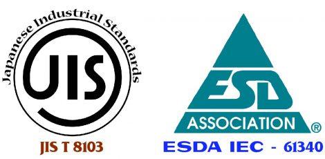 tieu chuan jis 8103 - ESDA IEC 61340