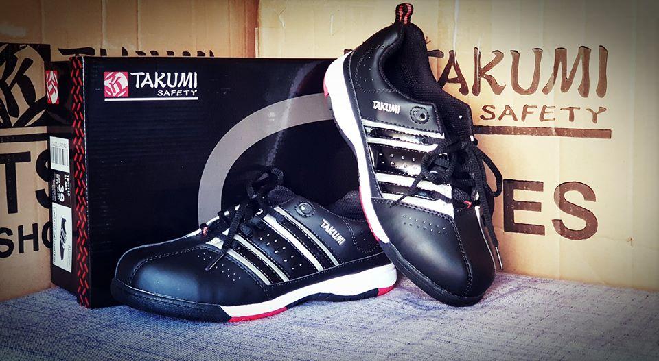 Giày bảo hộ Takumi TSh 115 màu đen