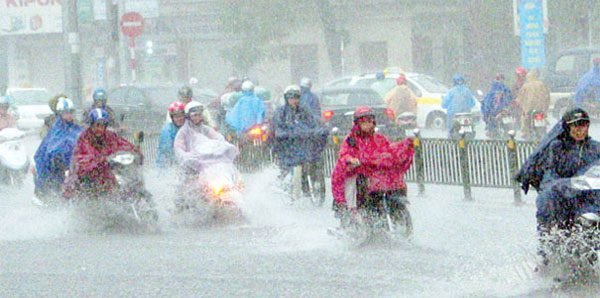 Làm gì khi giày bị mưa ướt trong mùa mưa bão không nắng