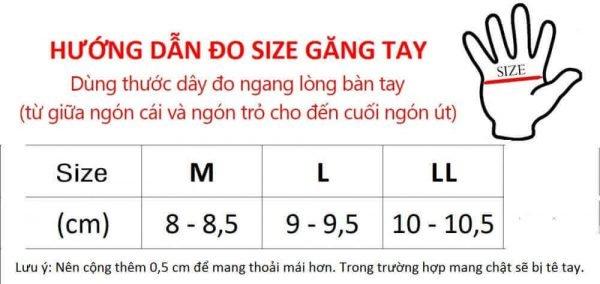 Cách đo size găng tay bảo hộ chuẩn xác