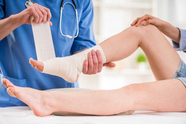 Những chấn thương chân tại nơi làm việc