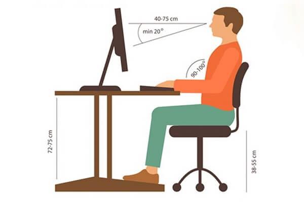 Tư thế làm việc đúng và an toàn cho người lao động (P1)